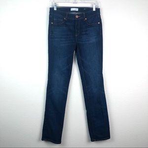 LOFT dark wash modern skinny jeans, 6